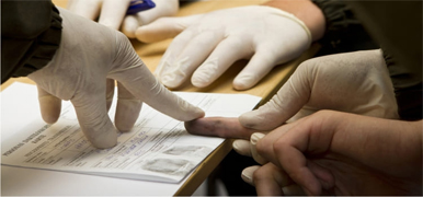Challenges in Taking Fingerprint from Dead Body