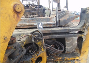 JCB Fire Investigation
